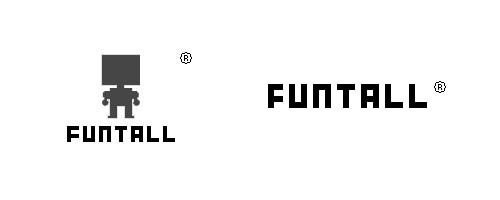 FUNTALL Trademark and LOGO, 方頭積木之註冊商標.
