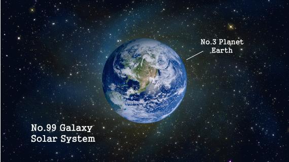 地球与星空图片素材