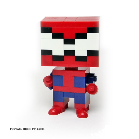Funtall HERO 方頭英雄 (FT-14001) 方頭 積木公仔 Funtall cube