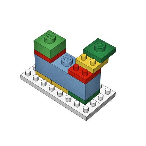 本圖中顯示 方頭積木 所擁有的世界唯一的大小積木拼接組合! Our unique and special design apply to Funtall Cube structure.