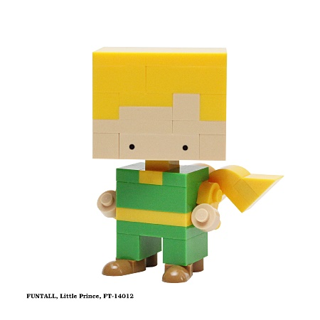 Funtall Little Prince 小王子 (FT-14012) 方頭 積木公仔 Funtall cube