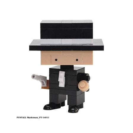 Funtall Marksman 神槍手 (FT-14011) 方頭 積木公仔 Funtall cube