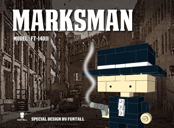 Marksman 神槍手顧名思義就是用槍如神的傢伙,面對標靶,例無虛發