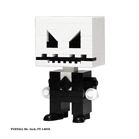 名稱:傑克先生, 型號:FT-14008, 系列:方頭人積木公仔. Name: Mr.Jack, Model:FT-14008, Funtall Amis series.