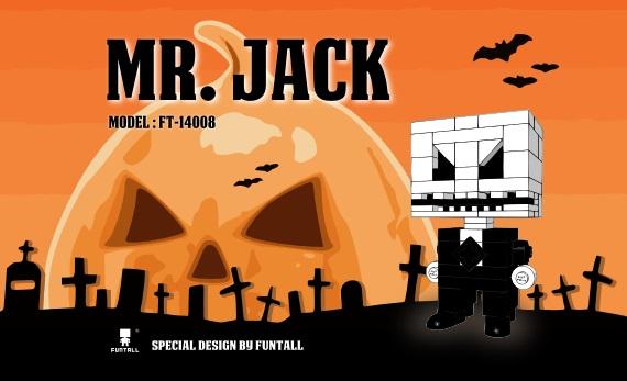 funtall Mr.Jack Halloween 傑克說 : 萬聖節快樂!