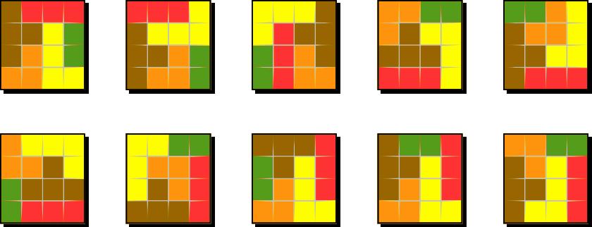 3×3 正方形拼图
